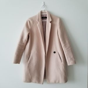 Zara Pink Coat S